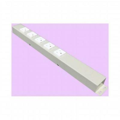 e-dustry EPS-H01605NVG1 5 Outlet Hardwired Power Strip 16 in
