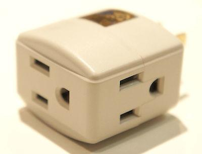 Electrical Power Power Tap 3 Splitter Angle Power Strip