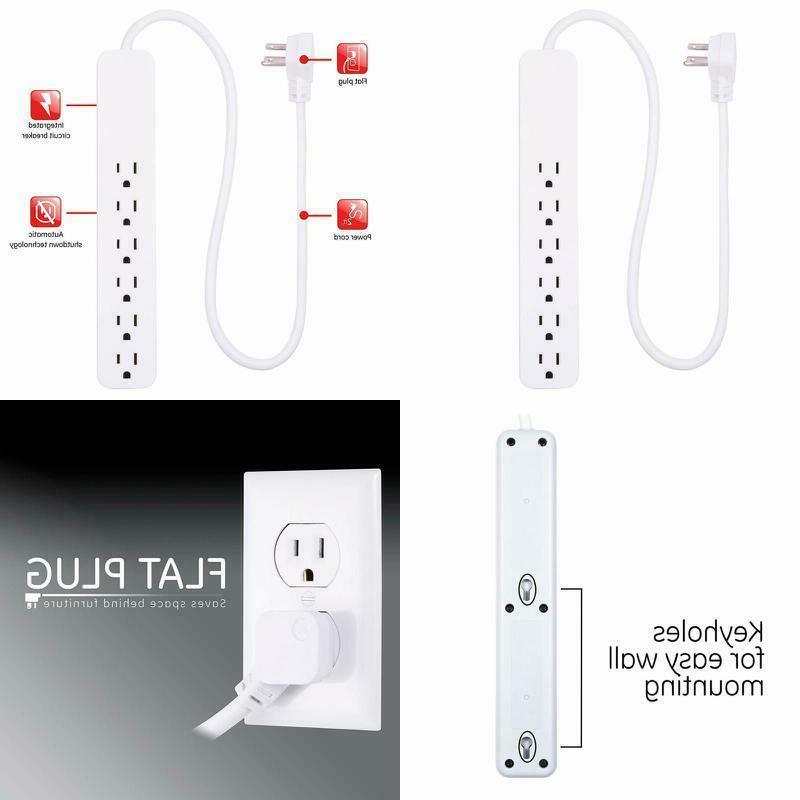 ge power strip surge protector fast charge