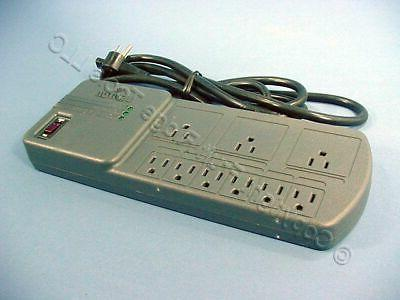 Leviton Gray MODULAR Surge Protector Power Strip Plus Cable