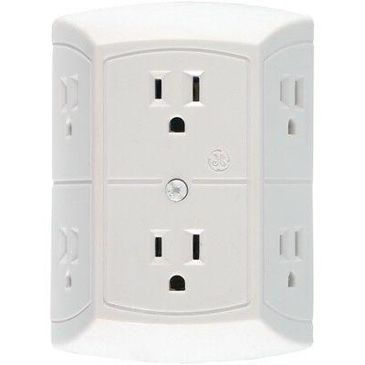 jashep50759 6 outlet in wall adapter