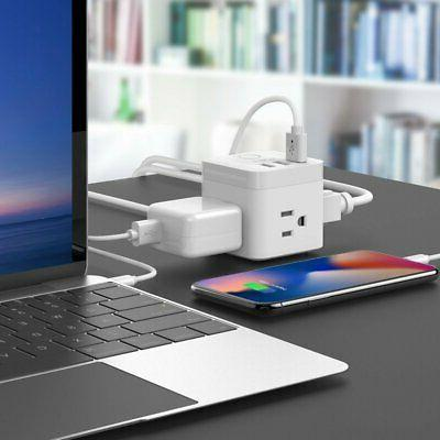 NEW! Outlet Compact Cube Power + Charging