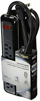 POWER ZONE OR802225 Powerzone Surge Protector Tap Strip, 125