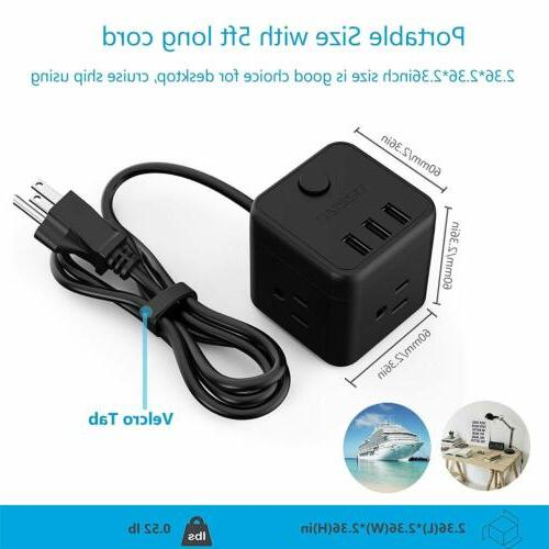 Small USB 5 ft Cord