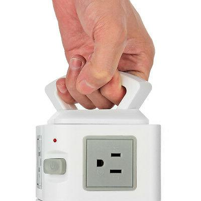 Power Strip with Surge Protector - USB Port Charge Station