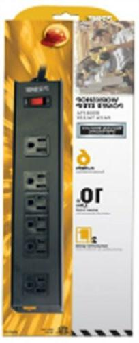 power strip 6 outlet metal by prime
