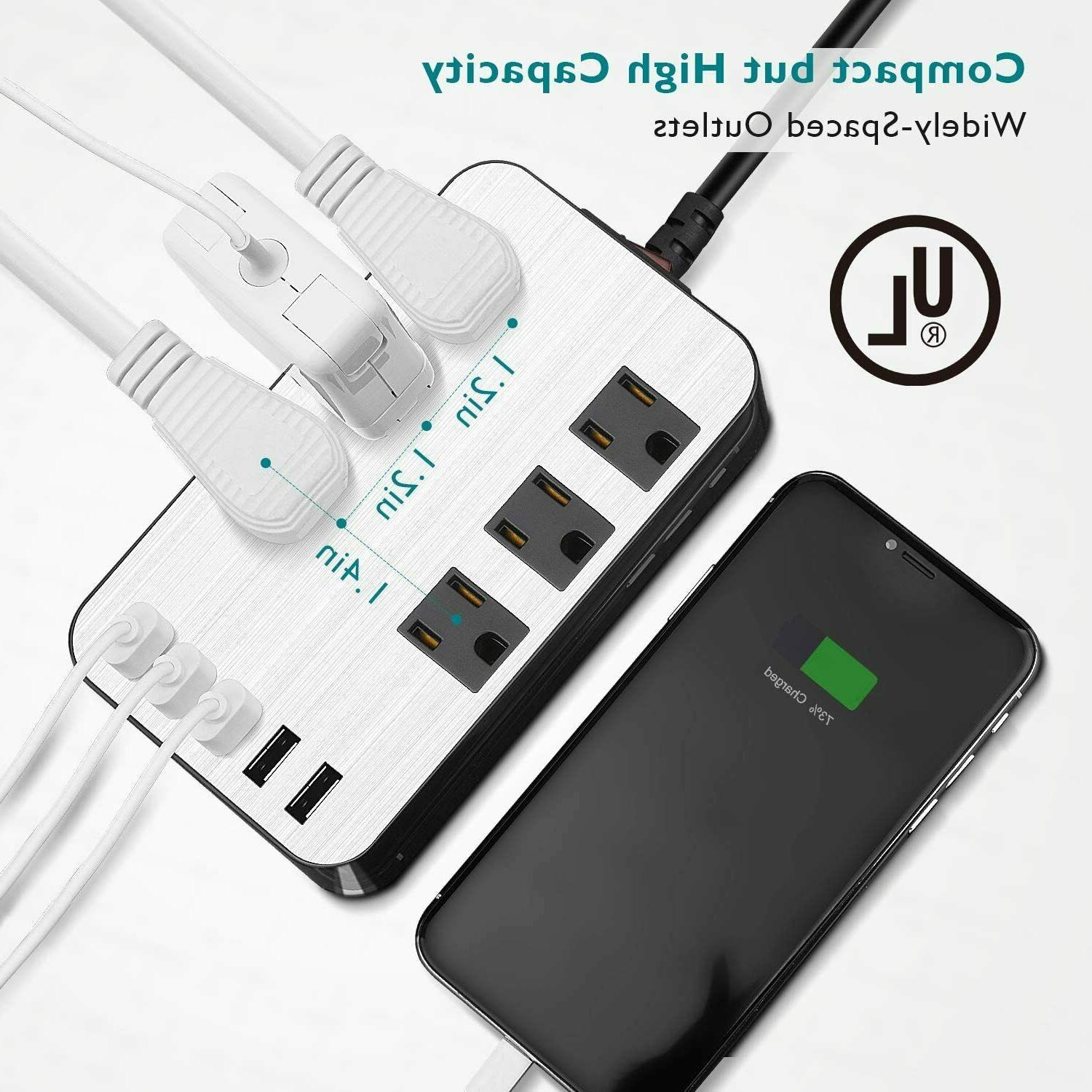 USB Charging Outlet 6ft Cord