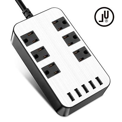 power strip surge protector usb port charger