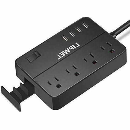 power strip surge protector with 4 usb