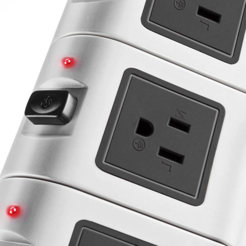 Power Strip with Surge 4 USB Port Charging