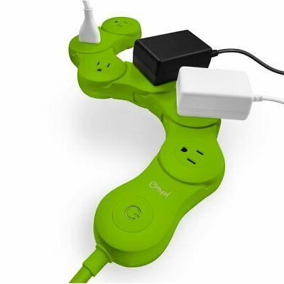 Quirky Pivot Power - Flexible 6 outlet surge protector - LIM