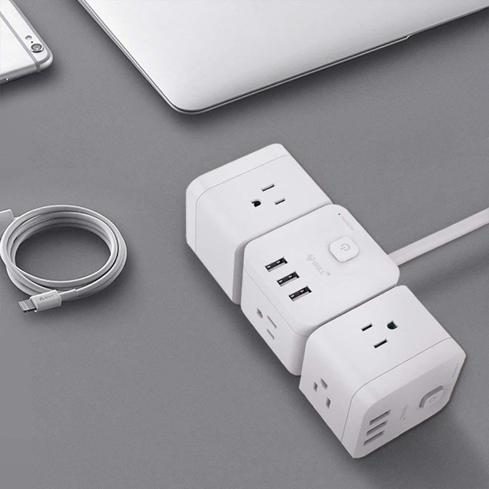 BULL USB Power Strip Charger 3-Ports