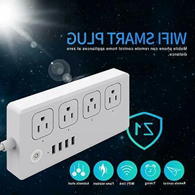Smart WiFi Protector 4 Ports and
