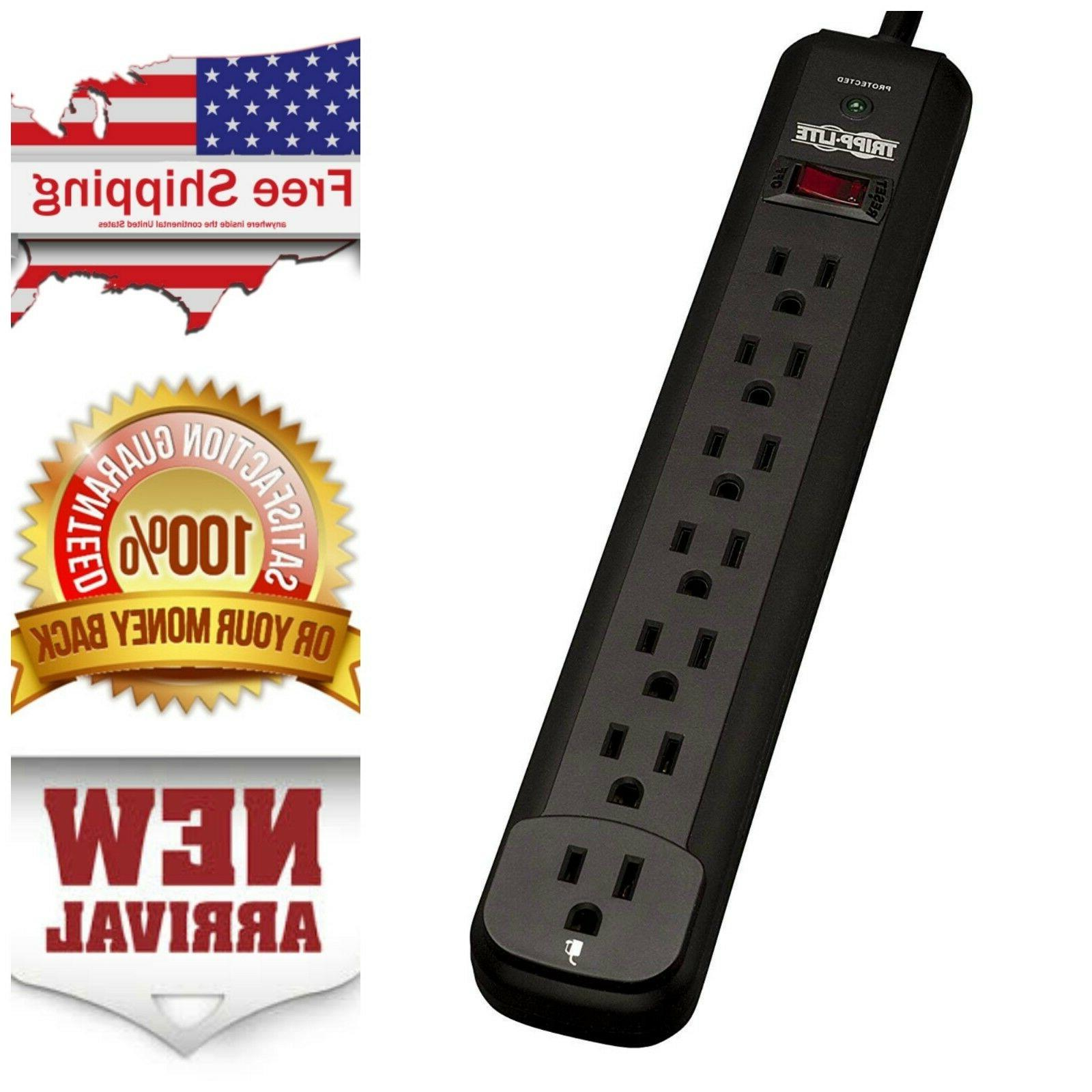 surge protector power strip 7 outlet 12