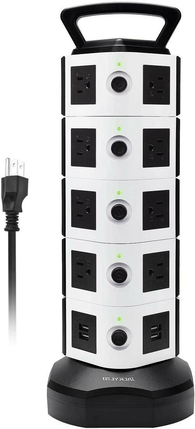 surge protector power strip tower 18 ac