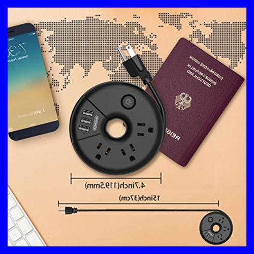 Travel Strip Charging No Protector Exte