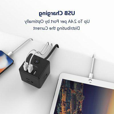 JSVER Travel with 3 Charging