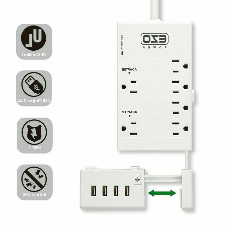 Ezopower Outlet Power Surge Protector With Port,