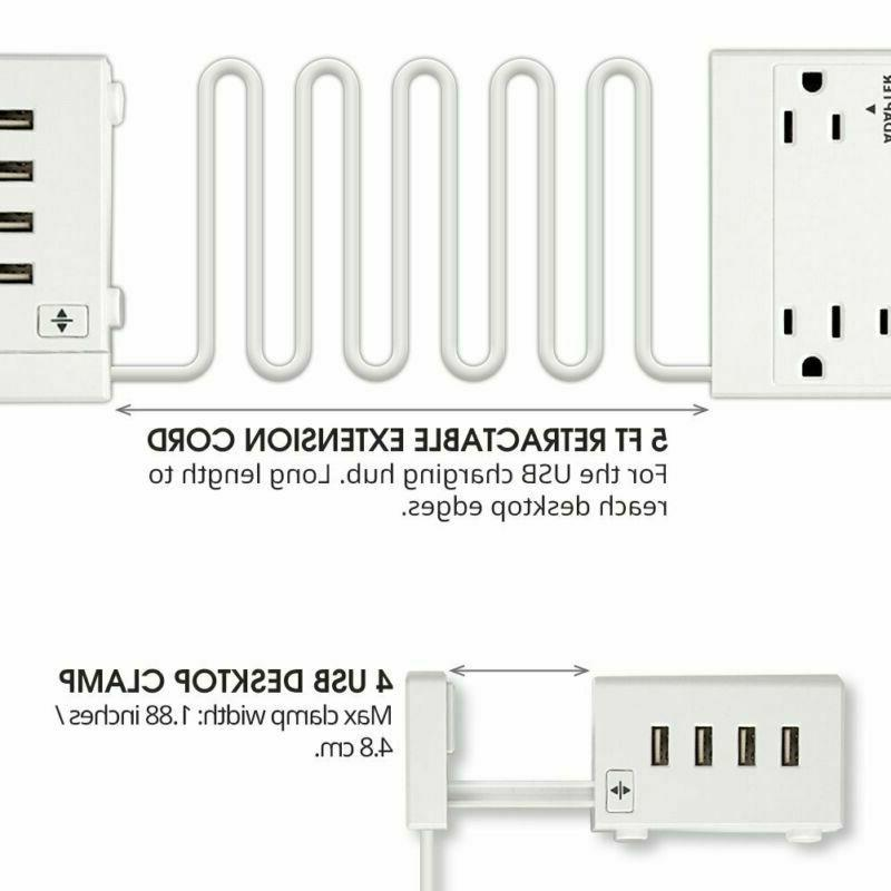 6 Outlet Power With Usb Port, Ex