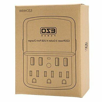 UL Charger EZOPower Power Surge Protector