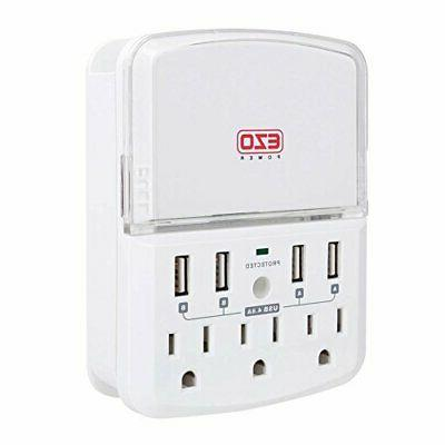 UL Certified Charger EZOPower Wall Power Protector