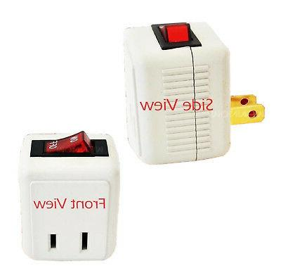 UL SWITCH Outlet Plug Turn Power Without Cords