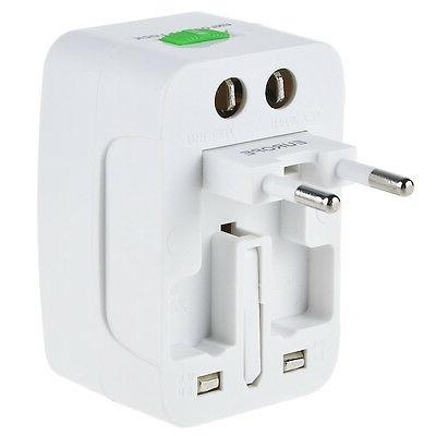 Universal Travel Adapter Power Outlet Plug Converter