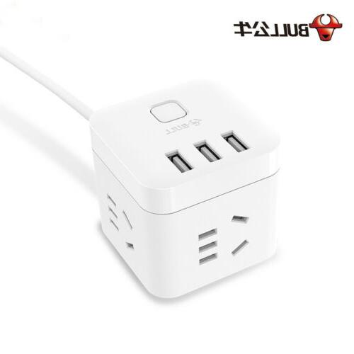 usb charger power strip surge protector wall