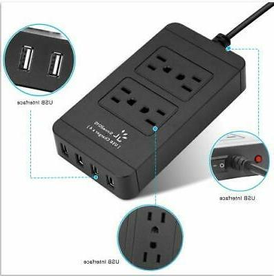 USB Power Protector 4 and 4 USB Charger 6ft