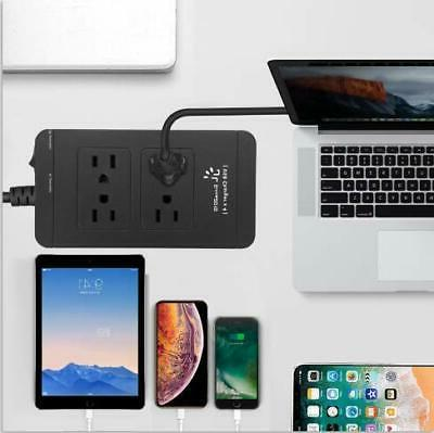 USB Surge Protector Outlet and 4 USB Port 6ft