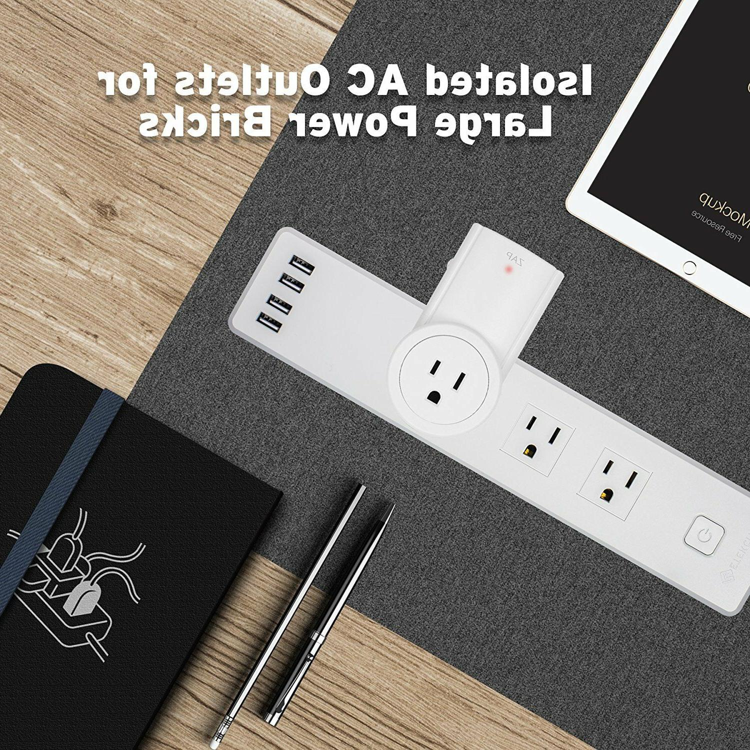 Etekcity Wall Protector Power 3 4Charge USB Ports