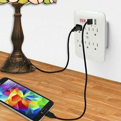 Wall EZOPower 6 Plate with 2