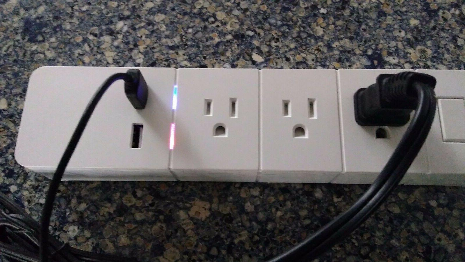 WiFi Advance Control Technology Power Strip w/Timer Feature