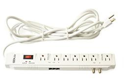 Digital Energy 15 Foot Long 7-Outlet 2400 Joules Surge Prote
