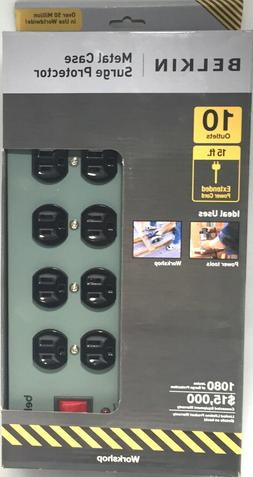 Low EMF Modified Belkin Power Strip Surge Protector 10 Outle