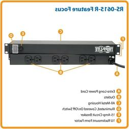 Tripp Lite Master-Power RS-0615-R 6 OUTLET Rackmount Power S