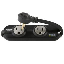 Monster MP OTG400 BK Outlets To Go Power Strip - 4 AC Outlet