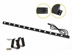 Opentron OT4126 Metal Surge Protector Power Strip Extension