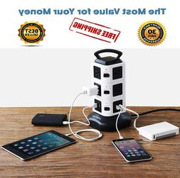 ORIGINAL Power Strip Tower JACKYLED Surge Protector Electric