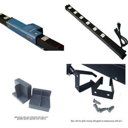 Opentron OT2063 Metal Surge Protector Power Strip Extension