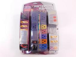 Monster Power Audio Video PowerCenter Surge Protector Strip