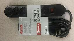 Power Strip 6 Grounded outlets 9' Extension cord 1875-W Righ