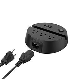 Power Strip with USB, NTONPOWER 3-Port USB Charging Station