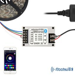 RGBW Waterproof 5M 5050 300 LED Strip Light+Bluetooth Contro