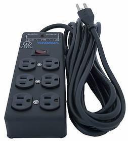 Furman SS-6B Pro Plug 6 Outlet AC Surge 15A Power Strip Cond