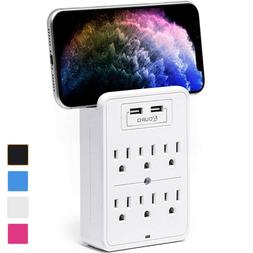 surge power strip 6 outlets and dual