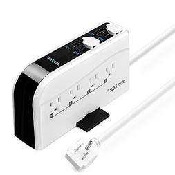 BESTEK Quick Charger Surge Protector Desk Power Strip with 8
