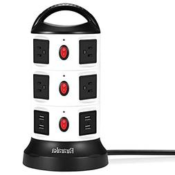 Surge Protector Tower Power Strip Electric Charging Station