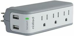SurgePlus USB Swivel Surge Protector and Charger (Power stri