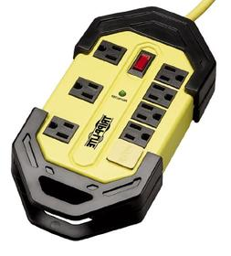 TLM812SA Safety Surge Suppressor, 8 Outlet, OSHA, 12ft Cord,
